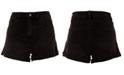 Rewash Juniors' High-Rise Mom Denim Shorts