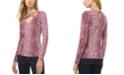 Michael Kors Plus Size Crossover V-Neck Top