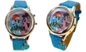 Accutime Kid's My Little Pony Digital Glitter Silicone Strap Watch 34mm