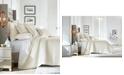 Hotel Collection Hydrangea Velvet Full/Queen Coverlet, Created for Macy's