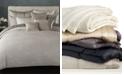 Donna Karan Home Reflection Silver King Quilt