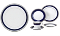 "Noritake ""Crestwood Cobalt Platinum"" Dinner Plate"