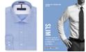 Tommy Hilfiger Men's Slim-Fit Non-Iron Soft Wash Solid Dress Shirt