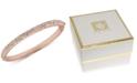 Anne Klein Crystal Pavé Bangle Bracelet, Created for Macy's