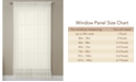 "Miller Curtains CLOSEOUT! Solunar Voile 54""x 63"" Insulating Sheer Curtain Panel"