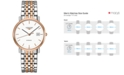 Longines Men's Swiss Automatic The Longines Elegant Collection Two-Tone Stainless Steel Bracelet Watch 37mm L48105127