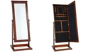 Powell Furniture Nikky Cheval Jewelry Armoire, Quick Ship