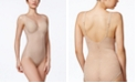 Bali Maidenform Women's  Ultra-Light Firm Tummy-Control Sheer Lace Body Briefer M6552