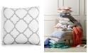 """Charter Club Geometric 18"""" Square Decorative Pillow, Created for Macy's"""