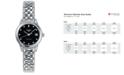 Longines Women's Swiss Automatic Flagship Diamond Accent Stainless Steel Bracelet Watch 26mm L42744576