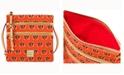 Dooney & Bourke Cincinnati Bengals Triple-Zip Crossbody Bag