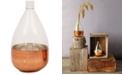 "3R Studio Copper Glass Balloon Vase, 12.5"""