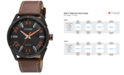 Citizen Drive from Citizen Eco-Drive Men's Brown Leather Strap Watch 42mm BM6995-19E