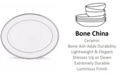 Lenox Pearl Platinum Oval Platter