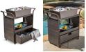 Noble House Aldin Bar Cart