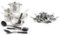 Bella 12-Pc. Stainless Steel Cookware Set