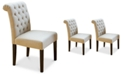 Noble House Vinsen Dining Chair (Set Of 2), Quick Ship