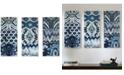 JLA Home Madison Park Flourish Ikat 3-Pc. Gel-Coated Canvas Print Set