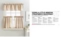 """Curtainworks Lodge Plaid 24"""" Tier & Valance Set"""