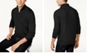 Club Room Men's Quarter-Zip Merino Wool Blend Sweater, Created for Macy's