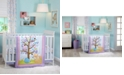 NoJo Adorable Orchard 3-Pc. Crib Bedding Set