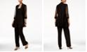 R & M Richards Embellished Layered-Look Pantsuit