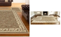 KM Home Area Rug Set, Roma Collection 3 Piece Set Floral