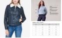 Levi's Women's Sherpa Lined Faux Leather Trucker Jacket