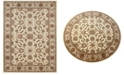 """KM Home CLOSEOUT! Pesaro Meshed Ivory 2'2"""" x 7'7"""" Runner Area Rug"""
