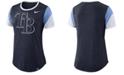 Nike Women's Tampa Bay Rays Tri-Blend Crew T-Shirt