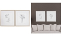 Uttermost Botanical Sketches 2-Pc. Framed Print Wall Art Set