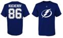 Outerstuff Nikita Kucherov Tampa Bay Lightning Player T-Shirt, Toddler Boys (2T-4T)