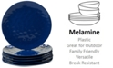 Certified International 6-Pc. Cobalt Blue Melamine Dinner Plate Set