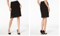 Kasper Pleated Pencil Skirt