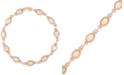 Macy's Opal Link Bracelet (3 ct. t.w.) in 14k Rose Gold