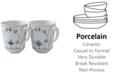 Royal Copenhagen Blue Fluted Mug, Set of 2