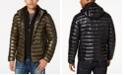 Calvin Klein Men's Big & Tall Packable Down Puffer Jacket with Fleece Bib