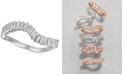 Le Vian Baguette Frenzy™ Diamond Wave Ring (3/8 ct. t.w.) in 14k White Gold