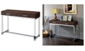 Furniture of America Romano Brown Sofa Table