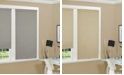 "US Shade & Shutter Cordless Linen Look Thermal Fabric Roller Shade, 34""x66"""