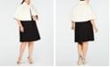 Betsey Johnson Trendy Plus Size Faux-Fur Shrug