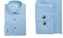 Bar III Men's Classic/Regular Fit Stretch Polka Dot Dress Shirt, Created for Macy's