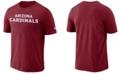 Nike Men's Arizona Cardinals Dri-FIT Cotton Essential Wordmark T-Shirt