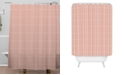 Deny Designs Iveta Abolina Roux Gray Shower Curtain