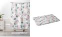 Deny Designs Iveta Abolina Study in Gray VII Bath Mat