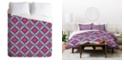 Deny Designs Holli Zollinger Shakami Bright Queen Duvet Set