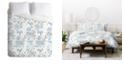 Deny Designs Iveta Abolina Vintage Garden Queen Duvet Set