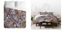 Deny Designs Iveta Abolina Flower Power II Queen Duvet Set