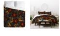 Deny Designs Iveta Abolina Bertadene Garden III Twin Duvet Set