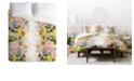 Deny Designs Iveta Abolina Papaya Prosecco Twin Duvet Set